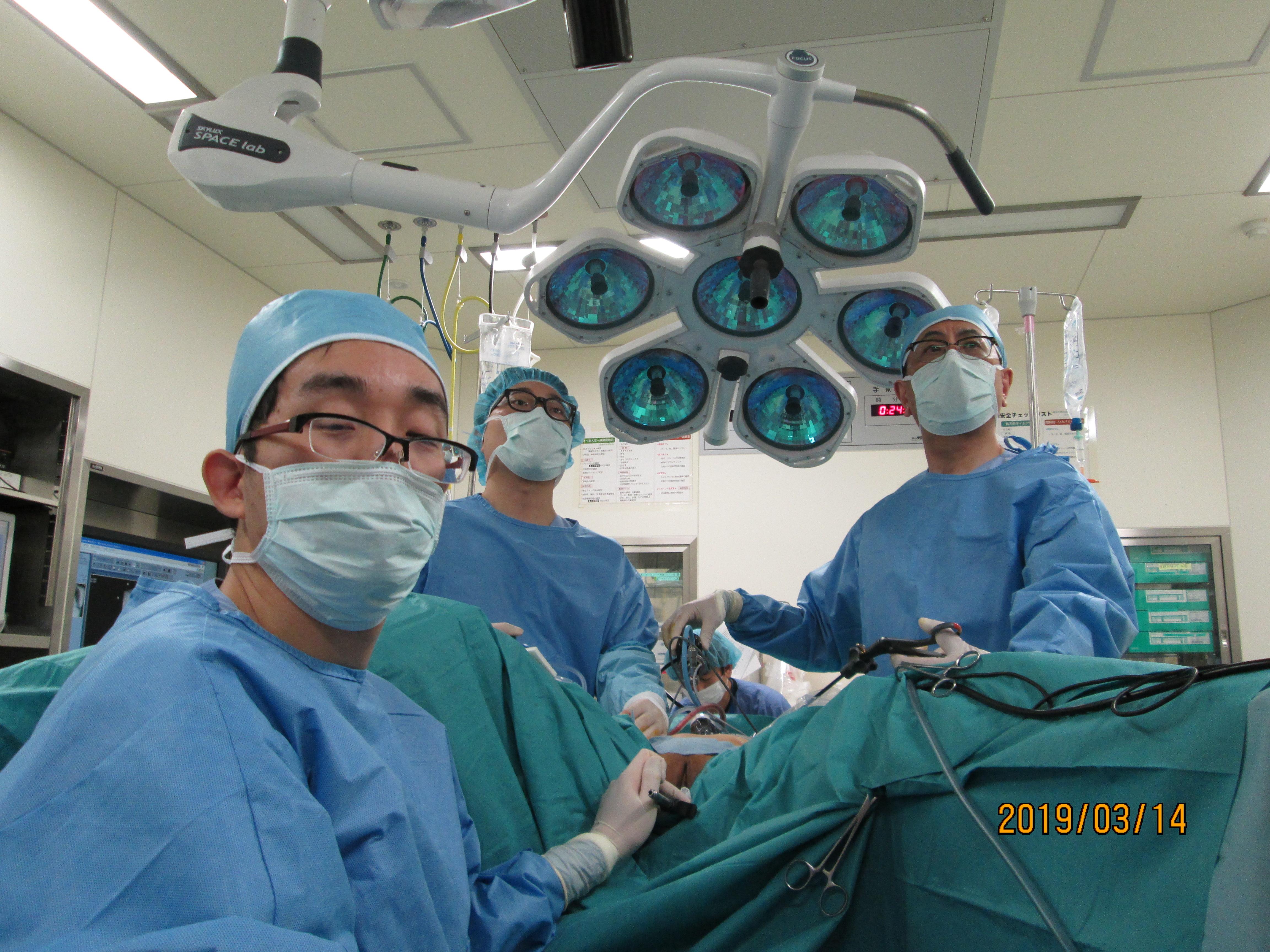県内屈指の内視鏡手術数